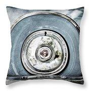 1956 Ford Thunderbird Spare Tire Throw Pillow