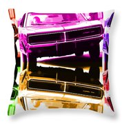 1969 Dodge Charger Throw Pillow