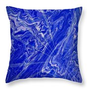 Abstract 34 Throw Pillow