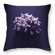 Adeno-associated Virus Throw Pillow