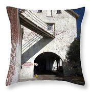 Alcatraz Island Throw Pillow
