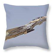 An F-15i Raam Of The Israeli Air Force Throw Pillow