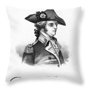 Anthony Wayne (1745-1796) Throw Pillow