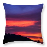 Appalachian Sunset Throw Pillow