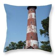 Assateague Lighthouse  Throw Pillow