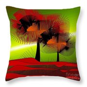 Autumn Colours Throw Pillow by Iris Gelbart