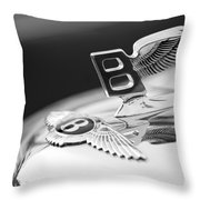 Bentley Hood Ornament Throw Pillow