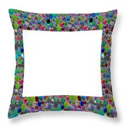 Border Frames Square Buy Any Faa Produt Or Download For Self-printing  Navin Joshi Rights Managed Im Throw Pillow