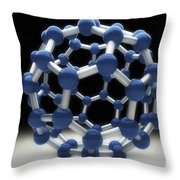 Bucky Ball Throw Pillow