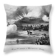 Bunker Hill, 1775 Throw Pillow