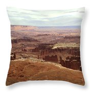 Canyonlands National Park In Utah Throw Pillow