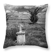 Cemetery Series Manderson Wy Throw Pillow