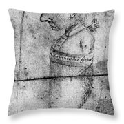 Charles Lee (1731-1782) Throw Pillow