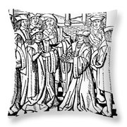 Charles Martel (c688-741) Throw Pillow