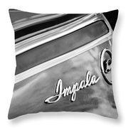 Chevrolet Impala Emblem Throw Pillow