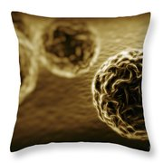 Chlamydia Bacteria Throw Pillow