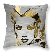 Christina Aguilera Collection Throw Pillow