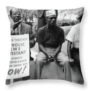 Civil Rights March, 1965 Throw Pillow