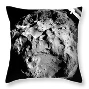 Comet 67pchuryumov-gerasimenko Throw Pillow