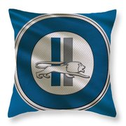 Detroit Lions Uniform Throw Pillow