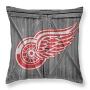 Detroit Red Wings Throw Pillow