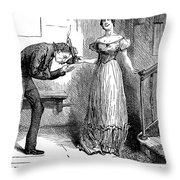 Dickens Martin Chuzzlewit Throw Pillow
