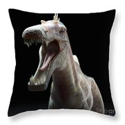 Dinosaur Suchomimus Throw Pillow