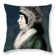 Dolley Madison (1768-1849) Throw Pillow
