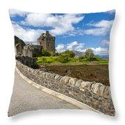 Eilean Donan Throw Pillow