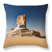 el Agabat Throw Pillow