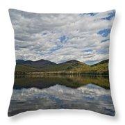 Elk Lake  Throw Pillow