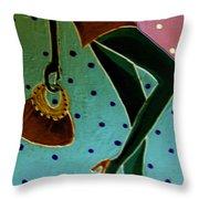 Fashion Art Throw Pillow