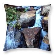 Finlay Park Waterfall 3 Throw Pillow