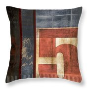 5 For The Books Throw Pillow