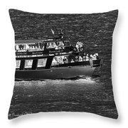 Fort Gratiot Light House Throw Pillow