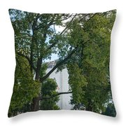 Founders Hall Throw Pillow