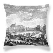 French Revolution, 1791 Throw Pillow