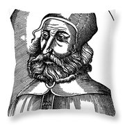 Galen (129-c200 A.d.) Throw Pillow