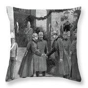 George V (1865-1936) Throw Pillow