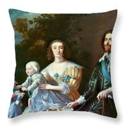George Villiers (1592-1628) Throw Pillow