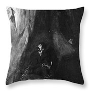 H Throw Pillow