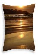 Hampton Beach New Hampshire Usa Throw Pillow