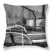 Helsinki Street Finland Throw Pillow