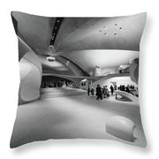 Idlewild Airport, C1958 Throw Pillow