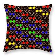 Infinity Infinite Symbol Elegant Art And Patterns Throw Pillow
