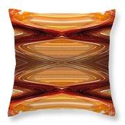 Intrepid Zigzags Throw Pillow