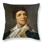 Jean-paul Marat (1743-1793) Throw Pillow