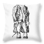 John Wilkes (1727-1797) Throw Pillow