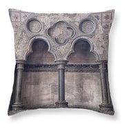 Knights Templar Temple In London Throw Pillow