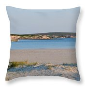 Langebaan Lagoon Throw Pillow